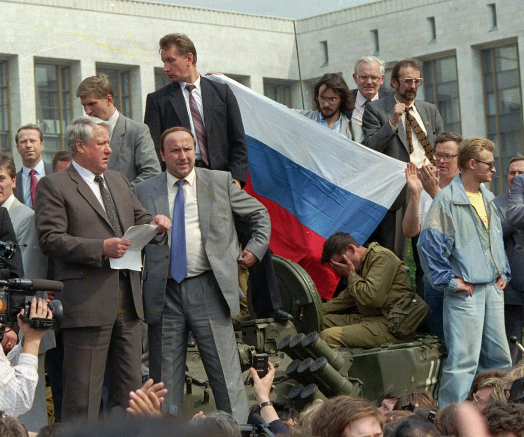 Современная русская литература Jelcin