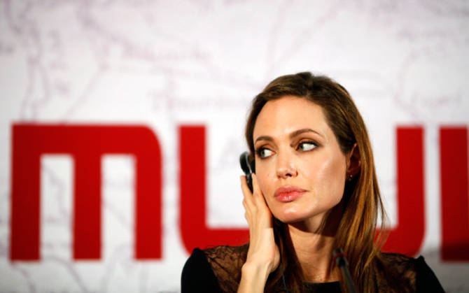 Film Angeline Jolie premierno v Sarajevu