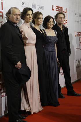Sarajevska premiera filma V deželi krvi in medu: Točno tako, kot je bilo