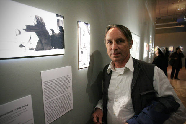 Marko Pogačnik med Unescovimi umetniki za mir