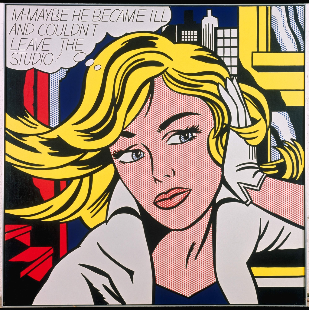 Pop art - Page 5 Foto%201_lichtenstein_m-maybe_1965