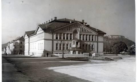 Nekoč v Ljubljani: Sokolski dom