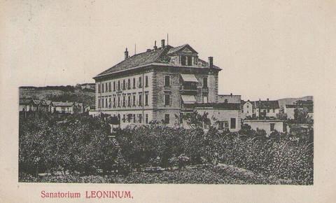 Nekoč v Ljubljani: Sanatorij Leonišče