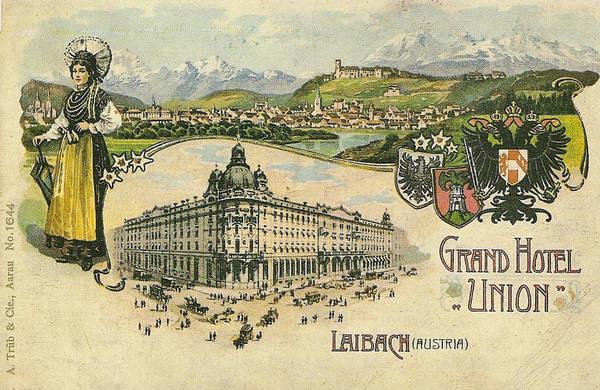 Nekoč v Ljubljani: Grand hotel Union