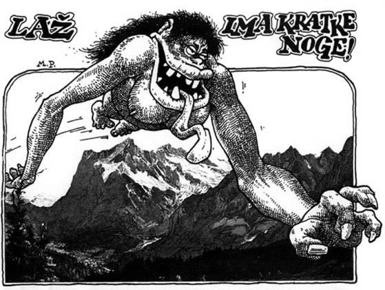 Festival, ki je potekal v stripovskih sličicah