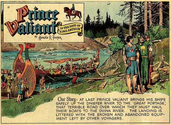 Princ Valiant, veličastna saga za vse čase
