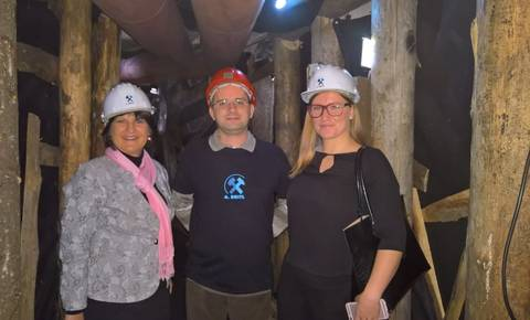 V katakombah gostili predstavnici MGRT IN STO