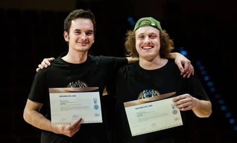 Slovenski duo Dendrocopos zmagal na mednarodnem tekmovanju v Luksemburgu