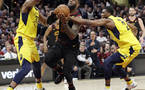 NBA: Cleveland na krilih Jamesa izenačil serijo (VIDEO)