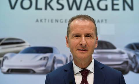 Herbert Diess bo pospravljal po Volkswagnu