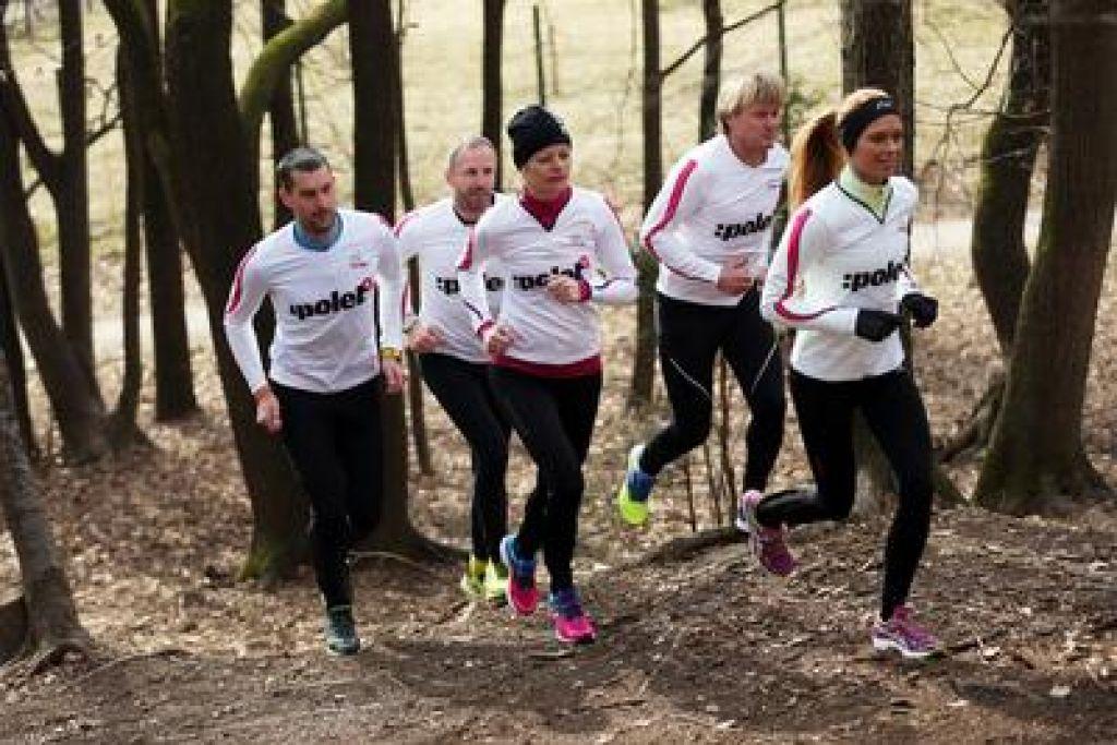 FOTO:Tekaški program za 10 in 21 kilometrov - 1. teden