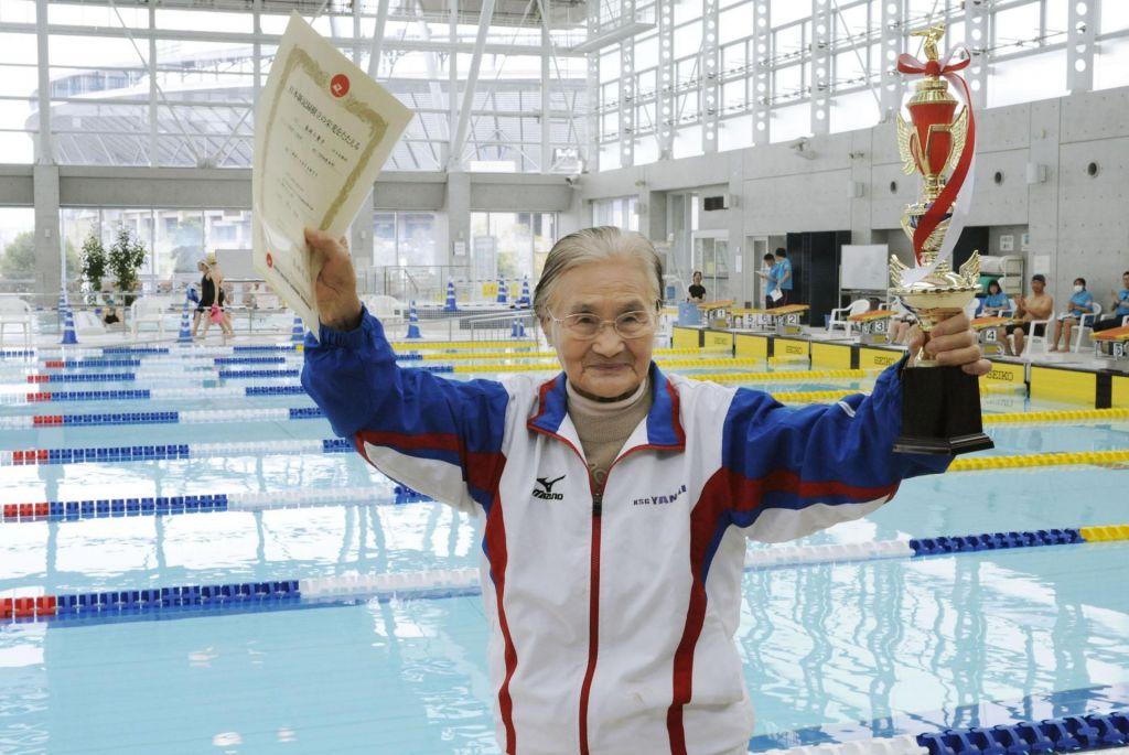 Plavalni rekord stoletnice
