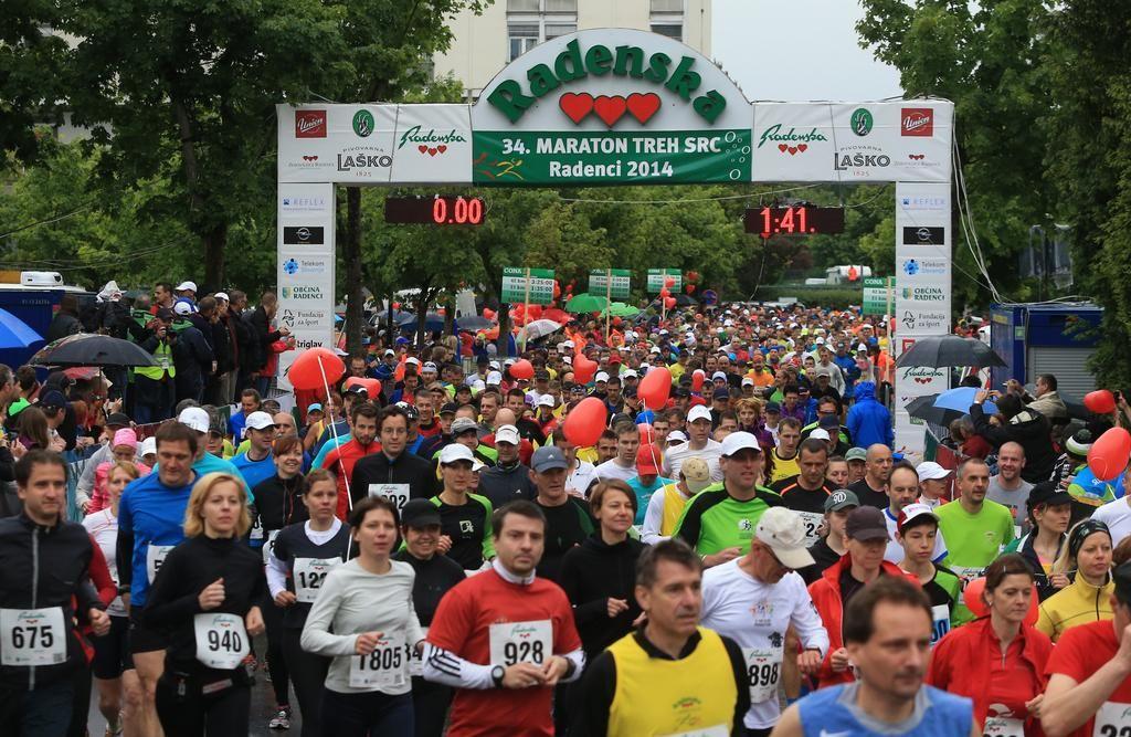 Doslej 5612 prijav za 35. maraton treh src v Radencih