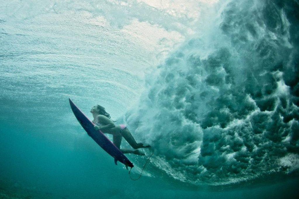 Video: Treniraj, da preživiš pod valovi