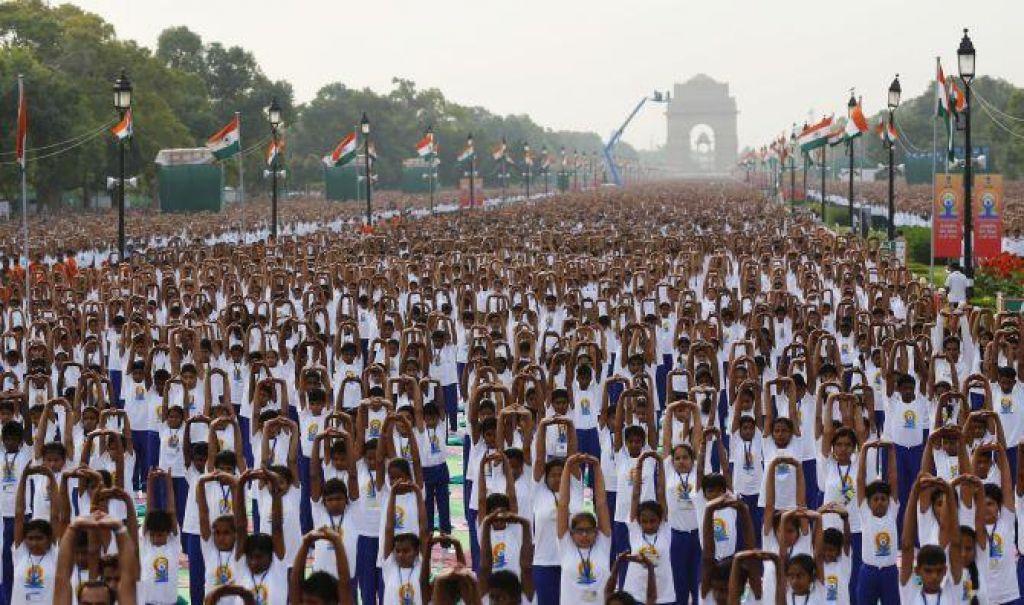 V Indiji postavili nov Guinnessov rekord v vadbi joge