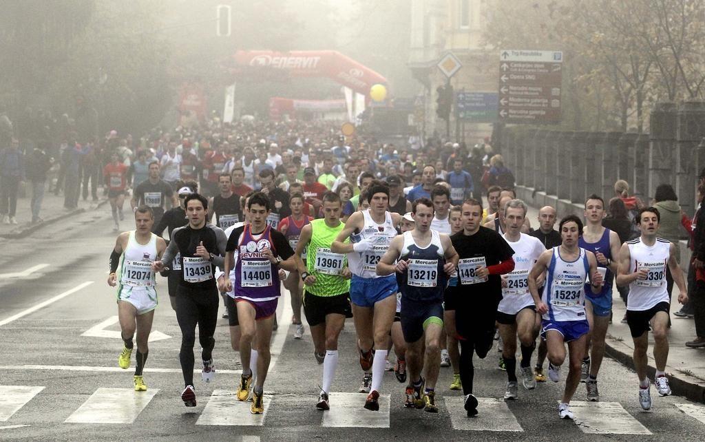 Miselni dnevnik tekača, ki bo tekel na deset kilometrov.