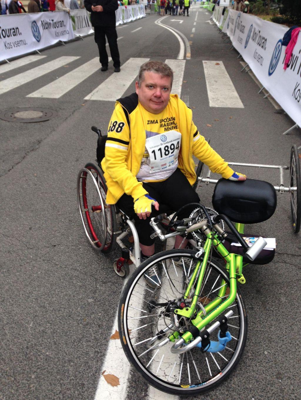 Z invalidskim vozičkom na Kilimandžaro - avantura se začenja!