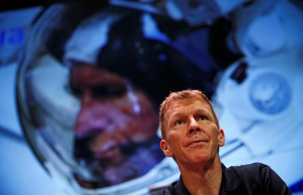 Britanski astronavt bo na londonskem maratonu sodeloval iz vesolja