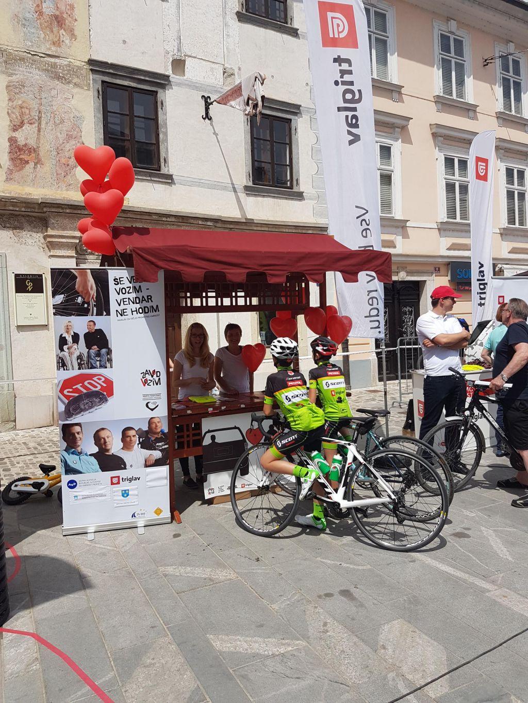 Za večjo varnost kolesarjev z akcijo #MislimVarno
