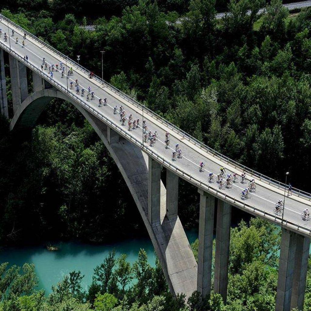 Kolesarski maraton Junaki vinogradov