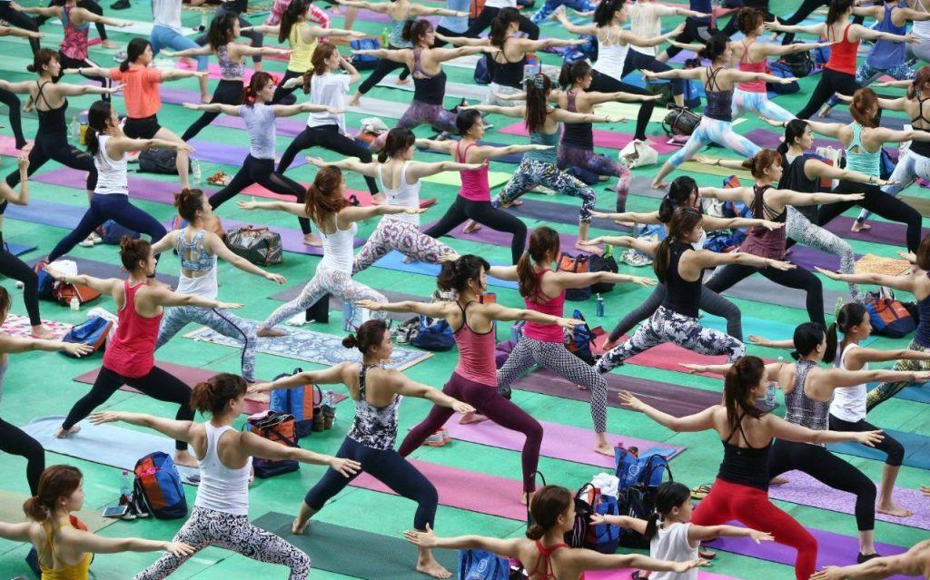 Tudi v Sloveniji smo slavili mednarodni dan joge