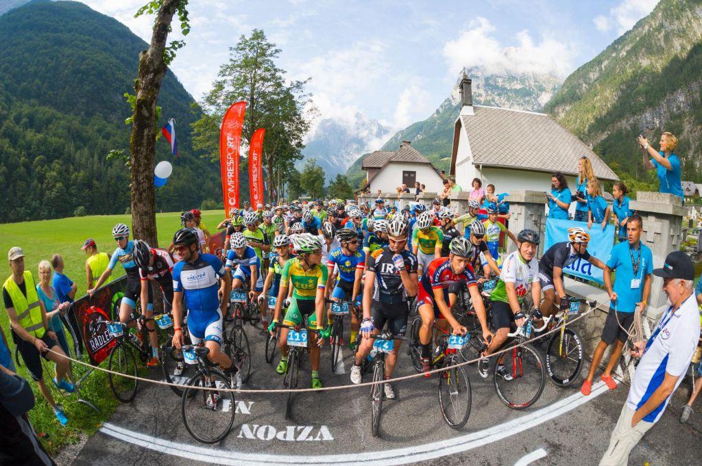 FOTO:Pred nami je 16. kolesarski vzpon na Mangart