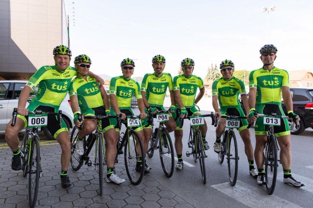 Ekipa Tuš TEAM - ena najboljših amaterskih kolesarskih ekip na svetu
