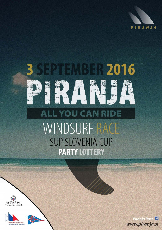 »All you can ride Windsurf Race« in regata s SUP deskami