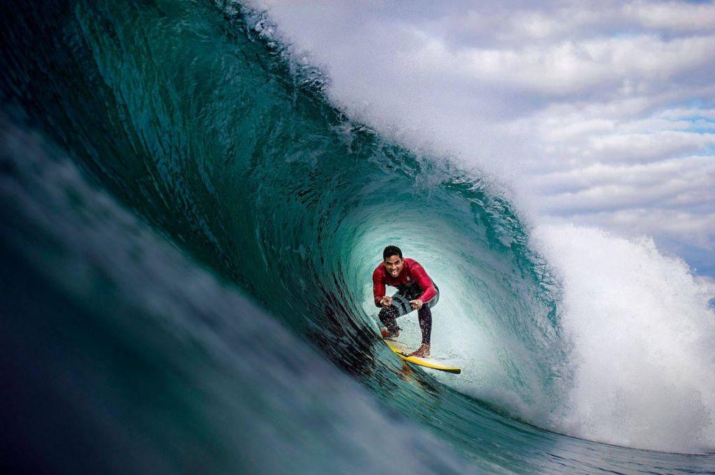Moč v številkah: Surfer Michel Bourez