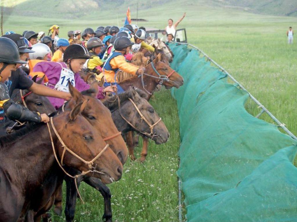 FOTO:Mongolske olimpijske igre