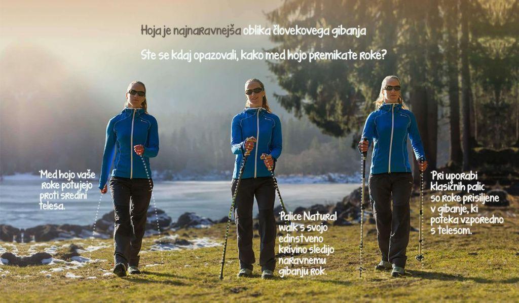 Test opreme: Edinstvene slovenske pohodne palice