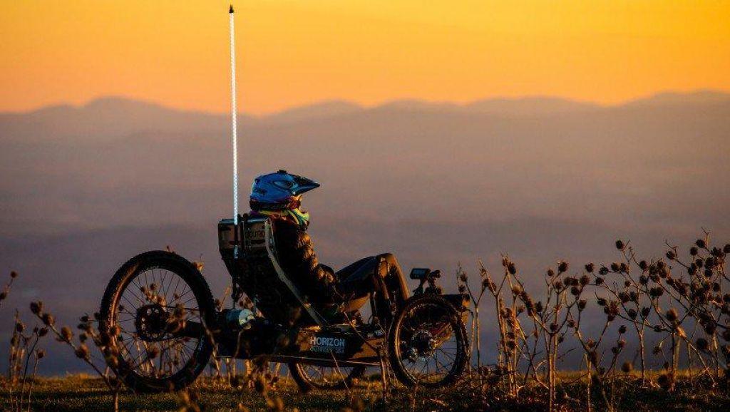 Ležeče kolo za divjino