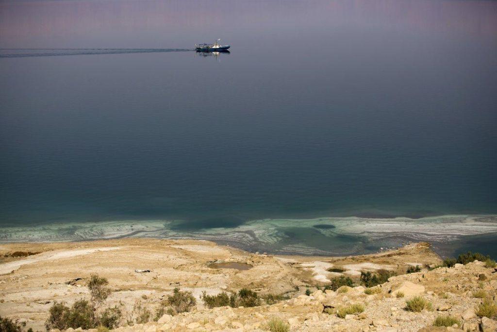 Človek preplaval tudi Mrtvo morje