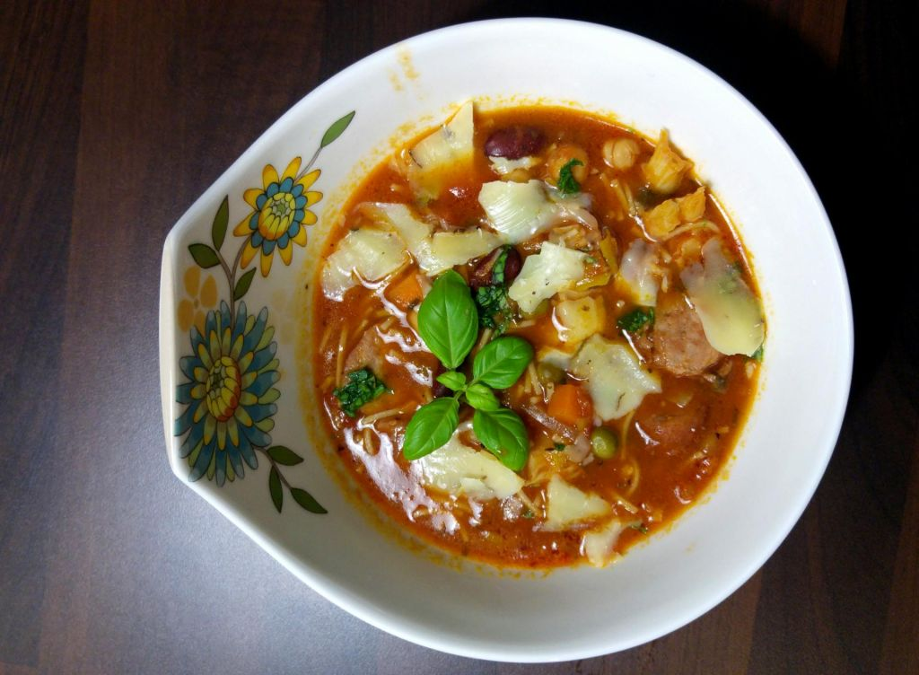 FOTO:Poletov recept: Mineštra Alpeadria