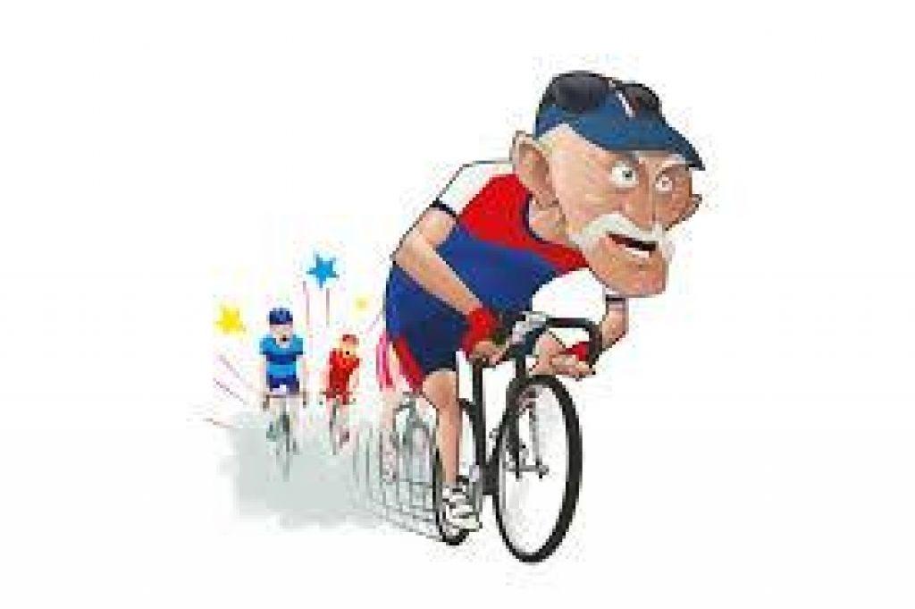 Šport starejših (ali kolesarjenje po ameriško)
