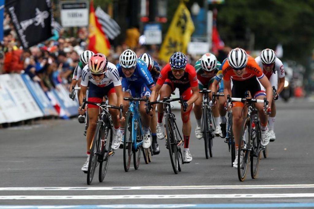 Trenirajte kot olimpijska kolesarka