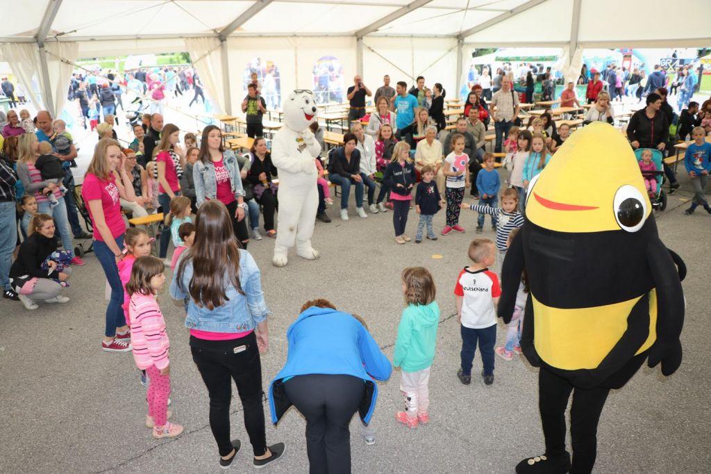 FOTO:Največja otroška športna zabava