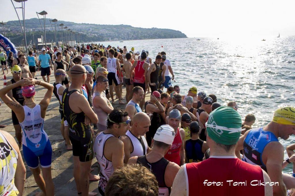 FOTO:Rekordna udeležba na triatlonu v Kopru