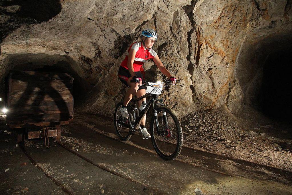 Nenavadno: Podzemno kolesarjenje