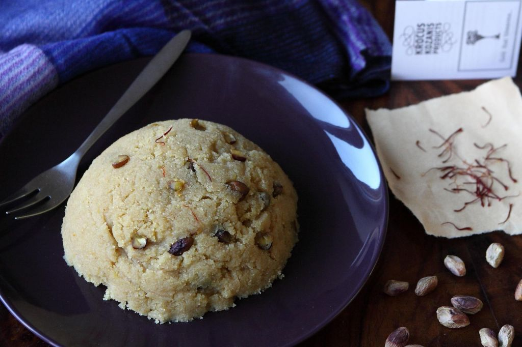 Poletov recept: Hvala za halvo s pistacijami
