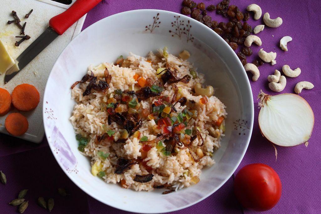 Poletov recept: Popraznični praženi riž