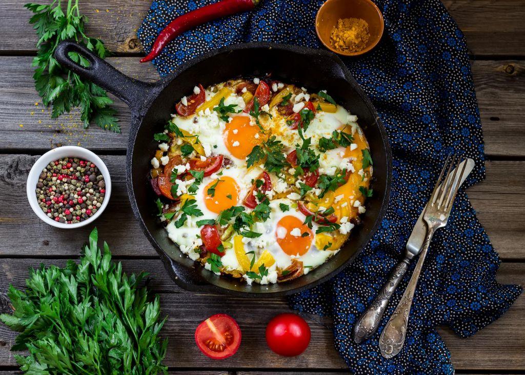 Poletov recept: Zajtrk v ponvi ali Shakshuka