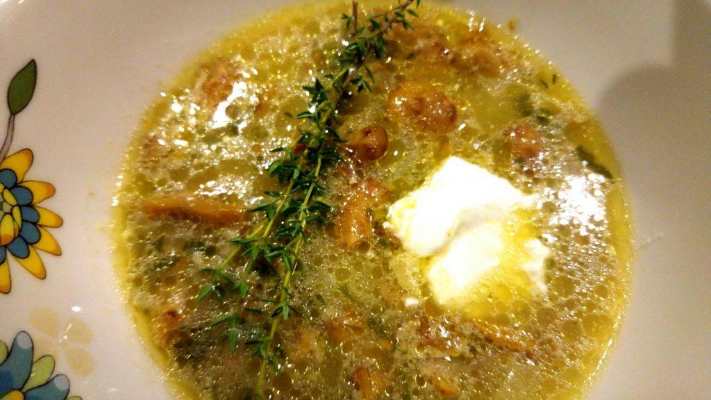 Poletov recept: Lisičkina juha