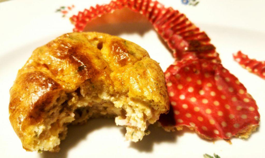 Poletov recept: Muffin kot sendvič za na pot