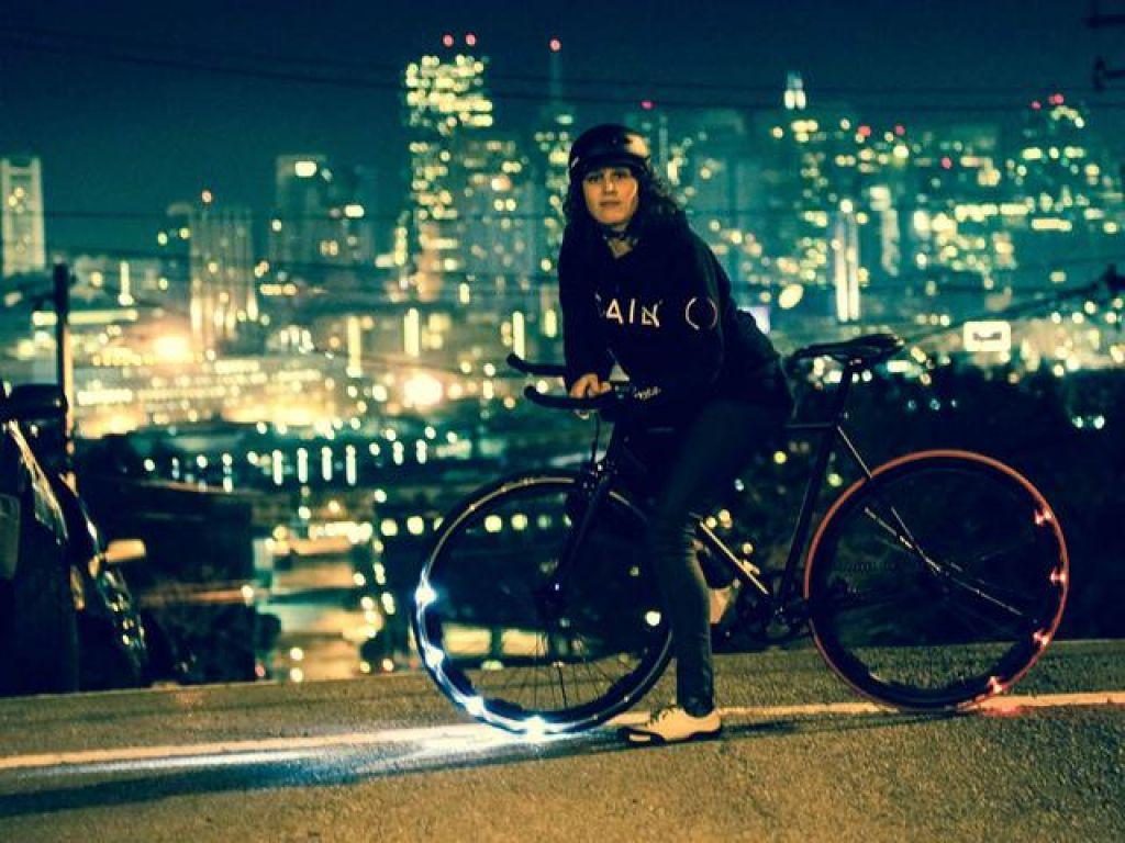 Žareča kolesa za večjo varnost