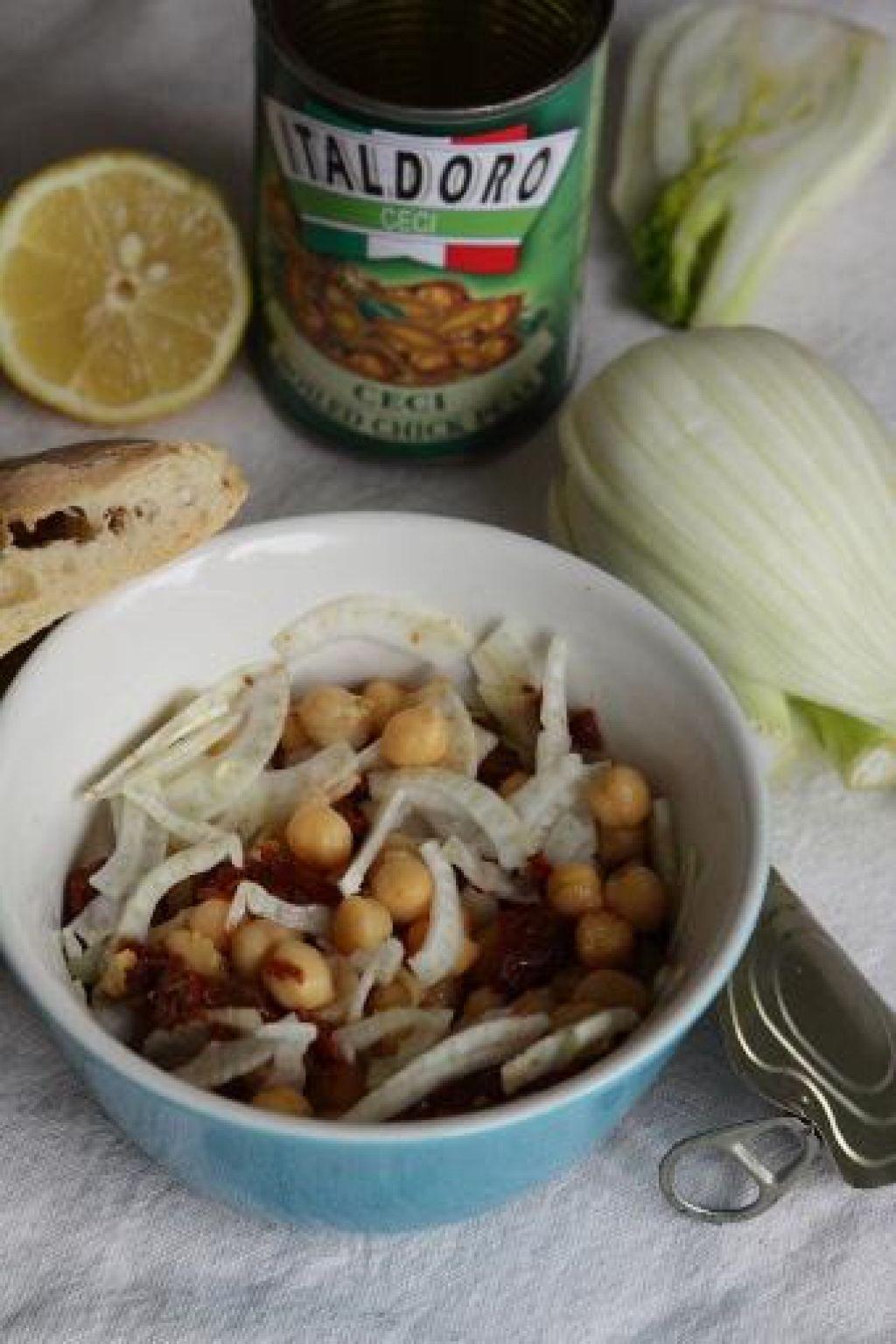 Poletov recept: Zimska čičerkina solata