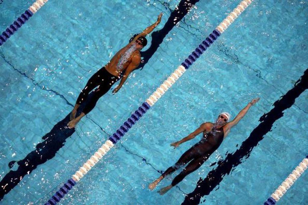 FOTO:Napake pri hrbtnem plavanju