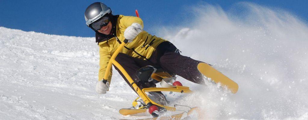 Snežna kolesa: nepozabna izkušnja tudi pri nas