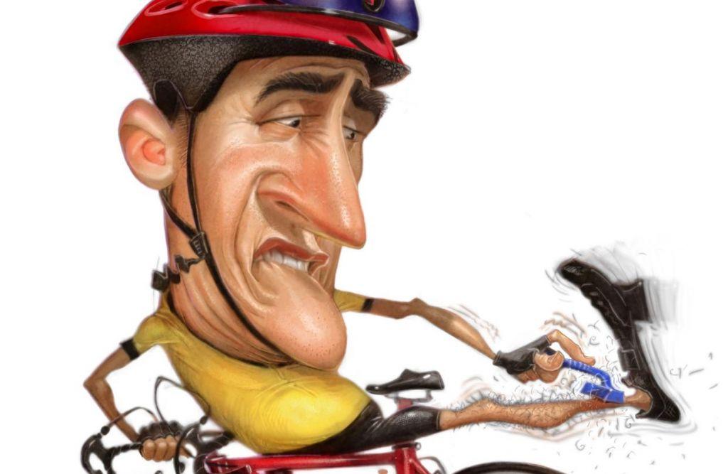 Zakaj si kolesarji brijejo noge?