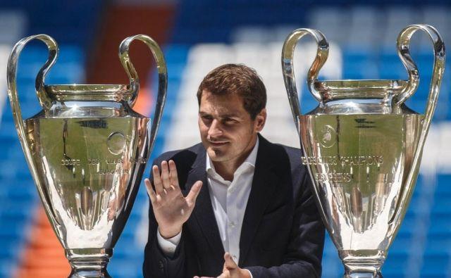 Iker Casillas je vrsto let blestel pri madridskem Realu.